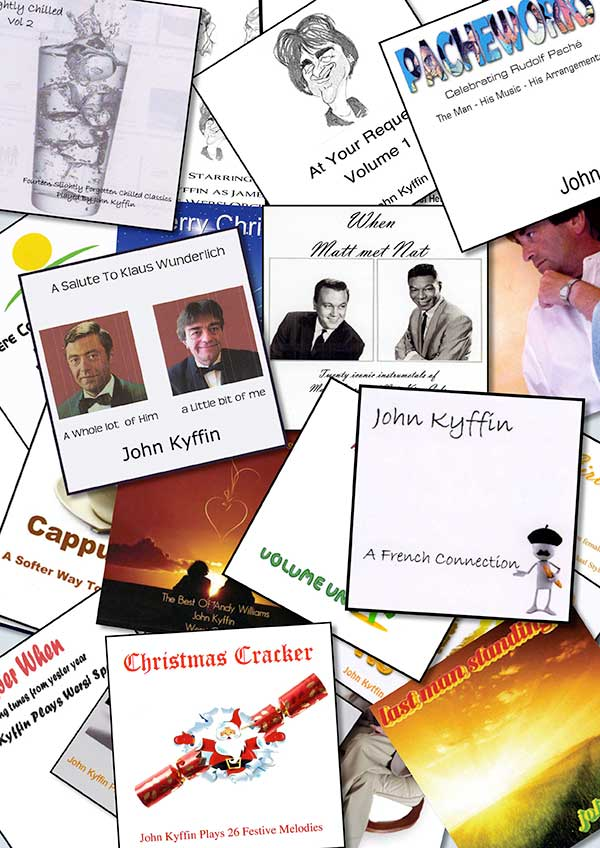 John Kyffin CD Covers