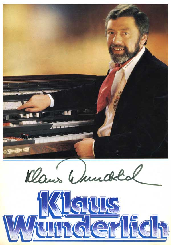 Klaus Wunderlich - 1979 UK Tour
