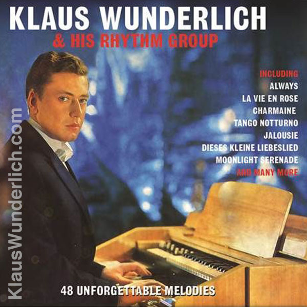 Klaus Wunderlich - 48 Unforgettable Melodies (2CD)
