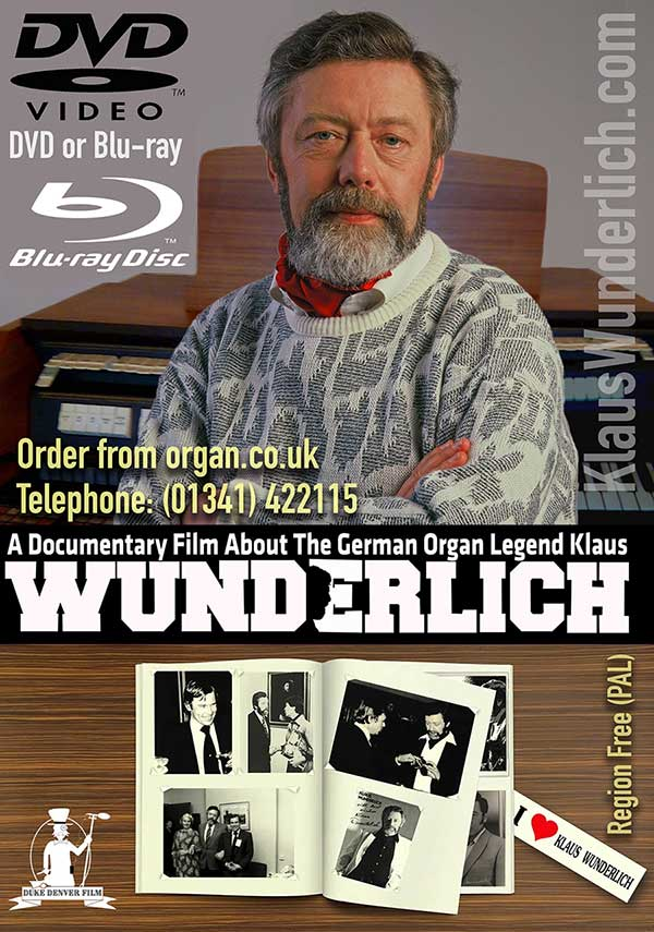 Klaus Wunderlich 2017 Documentary DVD & Blu-ray
