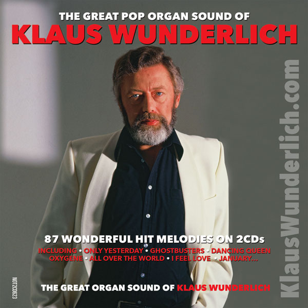 Pop Organ Sound of Klaus Wunderlich CD Sidebar